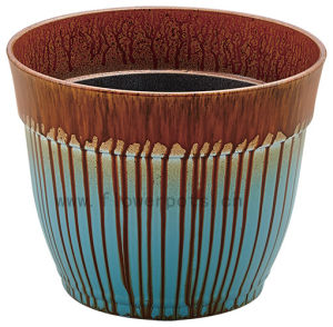 Shiny Finish Decoration Flower Pot (KD9441-KD9443) pictures & photos