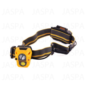 High Lumen ABS 3AAA Sensor LED Headlamp pictures & photos