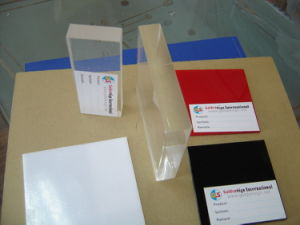 PMMA and Organic Glass Panel with Transparent Glossy Colorful pictures & photos