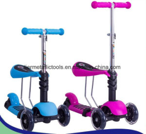 Scooter 3 Wheel 2 in 1 Scooter for Kids pictures & photos