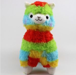 35cm Rainbow Vicugna Plush Toys pictures & photos