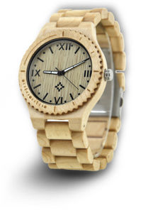 Luxury Design Cheap Wooden Man Watch pictures & photos