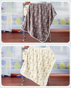 Flannel Fleece Blanket /Baby Throw / Cartoon Cat pictures & photos