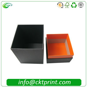 Custom Rigid Cardboard Perfume Box with Hot Stamping (CKT-CB-707) pictures & photos