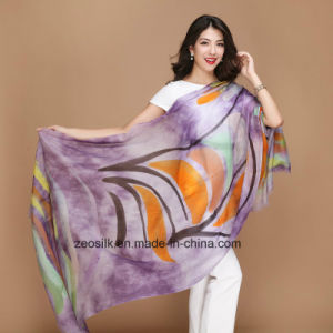 Long Wool Scarf for Fashion Women pictures & photos