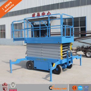 High-Stability Llifting Table Small Movable Scissor Lift Platform pictures & photos
