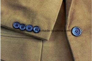 Man`S Khaki Cotton Suit pictures & photos