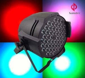54*3W RGBW LED PAR Light for Life Show Party pictures & photos