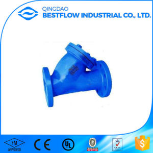 Ductile Iron Flange Connection Cast Iron Y Strainer pictures & photos