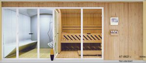 Hotel Project Steam Combined Sauna for Multi-Person with Customizing (AT-8621) pictures & photos