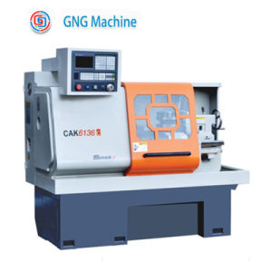 High Precision CNC Center Horziontal Metal Lathe pictures & photos