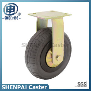 "6""Rubber Elasticity Foam Swivel Caster Wheel pictures & photos"