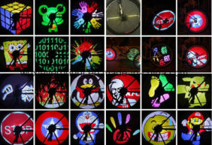 48 LED Programmable Spoke 24/26 Inch Wheel Light pictures & photos