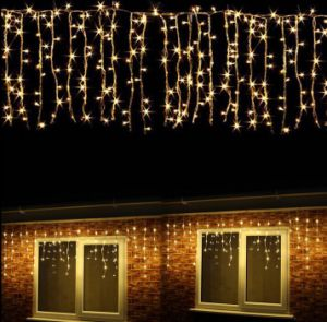 Ce&RoHS Approved Wholesale High Quality LED 4*1m144LED Icicle String Light pictures & photos