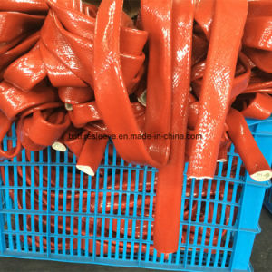 Fire Sleeving Silicone Covered Braided Fiberglass Sleeving pictures & photos