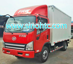 FAW Jiefang 3-5 Tons Dry Van Truck pictures & photos