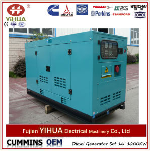 Aolin Diesel Generator Sets Silent Type, Weather Proof, Home Used 20kw pictures & photos