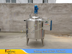 Milk Batch Pasteurizer with Automatic Temperature Control pictures & photos