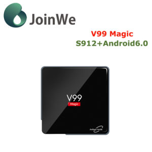 Amlogic S912 V99 Magic 2g 16g Android 6.0 Ott TV Box pictures & photos