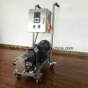 Food Grade Stainless Steel Sanitary Rotary Lobe Pump pictures & photos