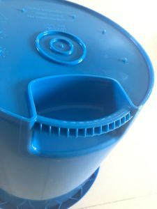 Plastic Single Ice Bucket Mould (HY028) pictures & photos