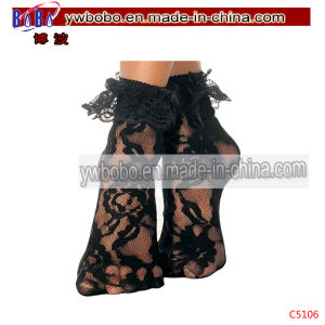 Sexy Lace Ruffle Frilly Ankle Socks Anklet Women Socks (C5106) pictures & photos