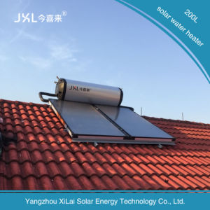 200L Efficient Flat Roof Solar Water Heater pictures & photos
