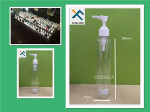 Cystomizde Plastic Cosmetic Packaging Bottle with Pump Sprayer pictures & photos