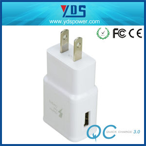 EU Us UK Mobile Phone Charger USB Travel Charger with 5V 2A 1-3 USB Port pictures & photos