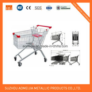 Ce & ISO Approved Euro Supermarket Steel Shopping Trolley pictures & photos