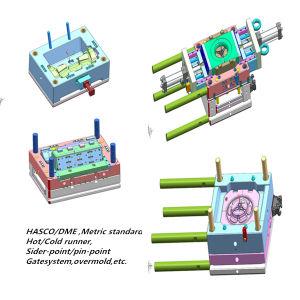 Precision Plastic Plug Mould, OEM ABS Parts pictures & photos