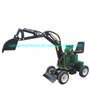 Mini Farm Tractor Loader Excavator for Forestry Farm Garden Machinery