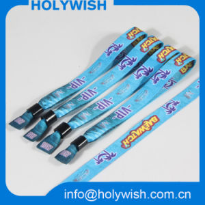 Cheap Custom Disposable Heat Transfer Eco Friendly Wristband pictures & photos