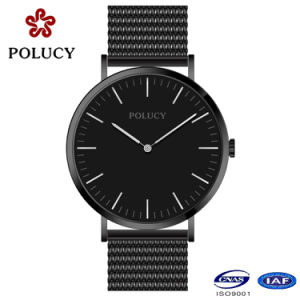 2017 Simple Stainless Steel Quartz Mesh Watch pictures & photos