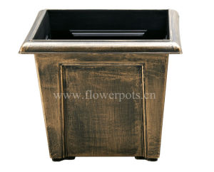 Square Bronze Garden Planter (KD4701S-KD4703S) pictures & photos