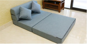 Convertible Lounger Gray Couch Living Room Mattress 195*150cm pictures & photos