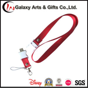2/4/8GB Printed Logo Nylon Flash Drive Lanyard with USB pictures & photos