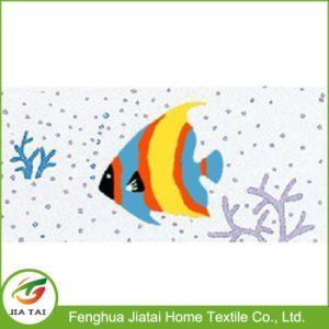 Swiss Design Fashion Fish PEVA Clear Plastic Shower Curtain pictures & photos