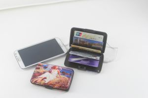 Customized RFID Mobile Power Bank Credit Card Holder pictures & photos