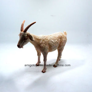 Plastic Goat Shaped Chiledren Cartoon Animal Toy pictures & photos