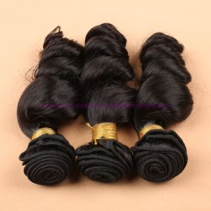 8A Grade Loose Wave Wefts, 8- 30 Inches Unprocessed Virgin Brazilian Hair Extensions pictures & photos