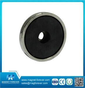 Round Permanent Ferrite Magnet pictures & photos
