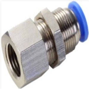 Pmf Female Straight Compression Pneumatic Tube Fitting pictures & photos
