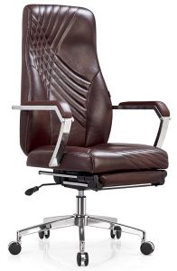 Modern Furniture Brown Office Rotate Leather Chair pictures & photos