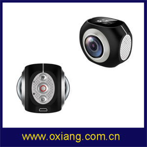 Newest Dual Lens 360 Degree Sport Camera pictures & photos