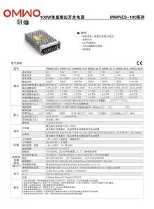 15W 5/12/24/48V Nes Series Efficient Single Switching Power Switching Power Supply pictures & photos