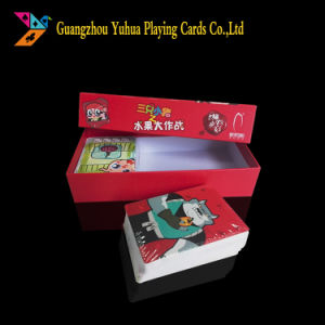 Manufacture 300GSM Black Core Cards OEM Blue Core Paper Game Cards Yh35 pictures & photos
