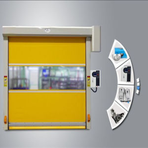 Automatic Warehouse Rapid Rolling Door pictures & photos