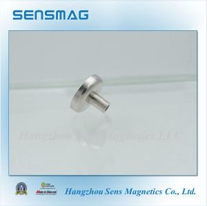 Permanent Neodymium Magnetic Hook, Ni Coated Pot Magnet, Permanent Magnetic Holding pictures & photos