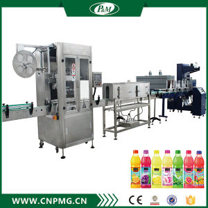 Shrink Sleeve PVC Plastic Film Labeling Packaging Machine pictures & photos